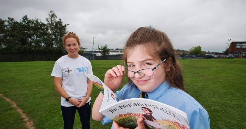 Schoolgirl reaches for the stars with published book