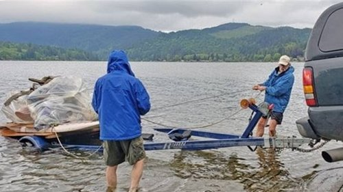 Old docks are polluting this Whatcom lake. Residents took matters into their own hands