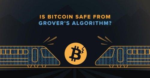 Is Bitcoin (BTC) Safe from Grover's Algorithm?
