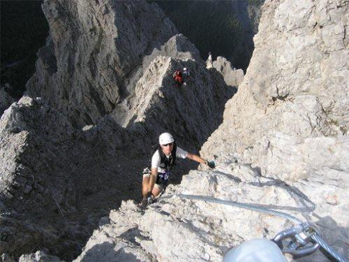 Madonnen - Klettersteig | Bergsteigen.com