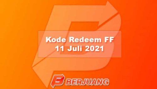 Kode Redeem FF 11 Juli 2021