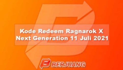 Kode Redeem Ragnarok X: Next Generation ROX 11 Juli 2021
