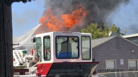 67th Street house fire displaces 5 residents at South Berkeley, North Oakland border