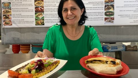 Persian and Mexican dishes share a home at Syma's Grill