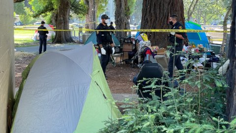 2 men who died of suspected drug overdoses at Berkeley park identified