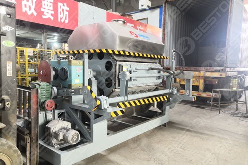 Egg Tray Manufacturing Machine Sold to Mozambique - Beston Machinery