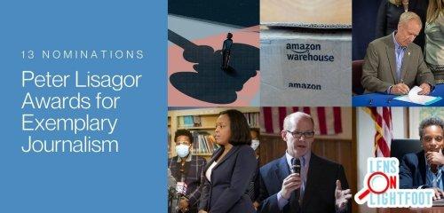 BGA Wins Five Lisagor Awards
