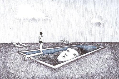 Illustration : les peurs absurdes de Virginia Mori