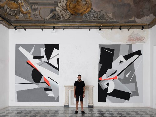 Street art : Greg Jager, l'artiste et designer romain qui brise les codes