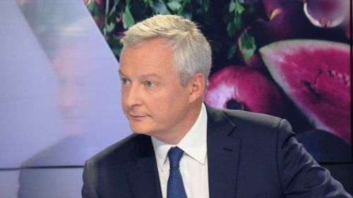 Bruno Le Maire annonce le maintien en janvier de la prime pour l'achat d'un véhicule électrique