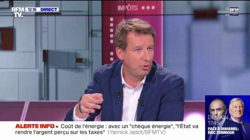 """Yannick Jadot sur le retour du nucléaire: """"La base, c'est de réduire la consommation d'électricité"""""""