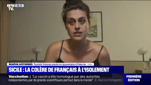 Covid-19: la colère de touristes français placés à l'isolement dans un hôtel insalubre en Sicile