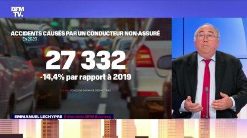 Les non-assurés ont provoqué 27 000 accidents - 05/08