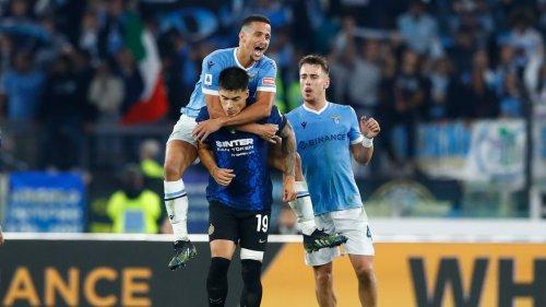 Lazio-Inter: l'expulsion ridicule de Luiz Felipe, qui a fini en larmes