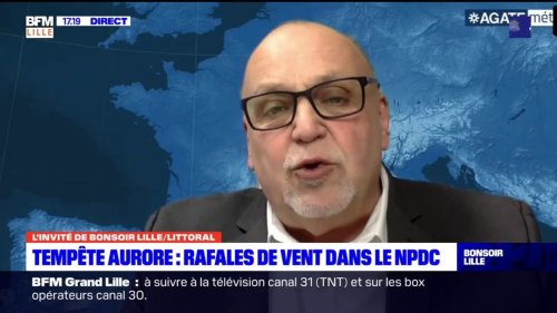 """Tempête Aurore: le météorologue Patrick Marlière assure que la température va descendre de """"10 degrés"""""""