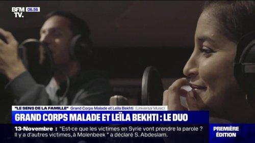 Une réédition de l'album de Grand Corps Malade, comprenant un duo avec l'actrice Leïla Bekhti, sort ce vendredi