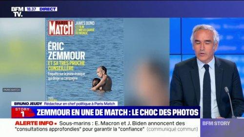 Des photos privées d'Éric Zemmour en une de Paris Match