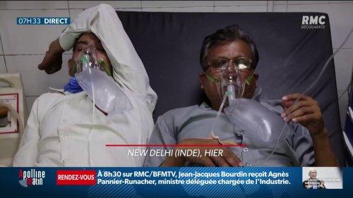 Un nouveau variant en Inde fait exploser le nombre de contaminations