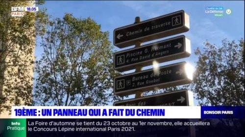 """Paris: un faux panneau """"chemin de traverse"""" pris au sérieux par la mairie de Paris"""