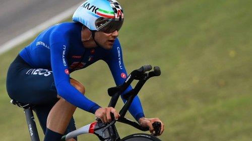 Mondiaux de cyclisme : Filippo Ganna conserve son titre sur le contre-la-montre