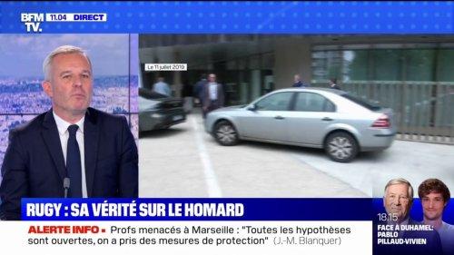 """François de Rugy sur l'affaire des homards: """"J'ai tourné la page (...) mais je sais bien qu'en terme d'image, ça reste fort"""""""