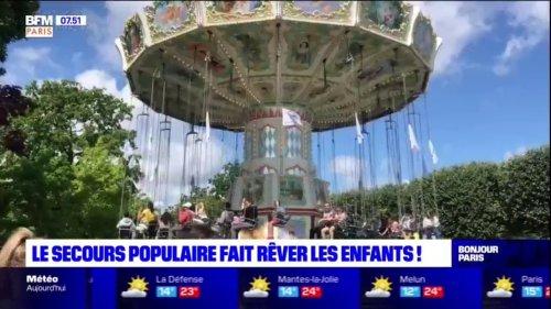 Île-de-France: le Secours populaire fait vivre une journée de rêve aux enfants défavorisés