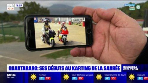 Bar-sur-Loup: les débuts de Fabio Quartararo au karting de la Sarrée