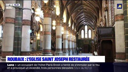 Roubaix: l'église Saint-Joseph rouvre ses portes ce dimanche après six ans de travaux