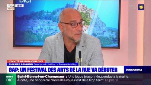 """Gap: Philippe Ariagno, directeur du théâtre La Passerelle, se réjouit du retour du festival """"Tous Dehors"""""""
