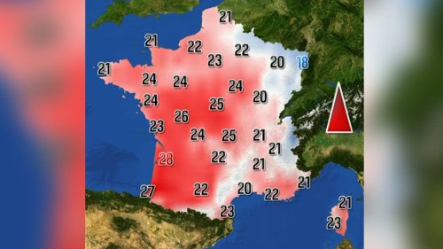Jusqu'à 30 degrés: des températures dignes d'un mois de juin attendues dans le Sud-Ouest
