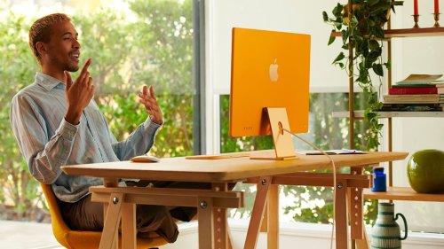 Apple dévoile de nouveaux iMac ultra-fins et multicolores, en hommage aux années 90