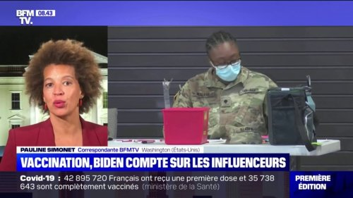 Aux États-Unis, Joe Biden mise sur les influenceurs pour convaincre les jeunes de se faire vacciner