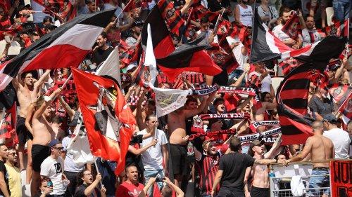 Saint-Etienne – Nice: les supporters niçois bloqués par les forces de l'ordre