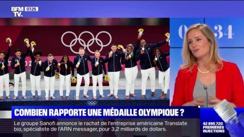 Combien rapporte une médaille olympique ?