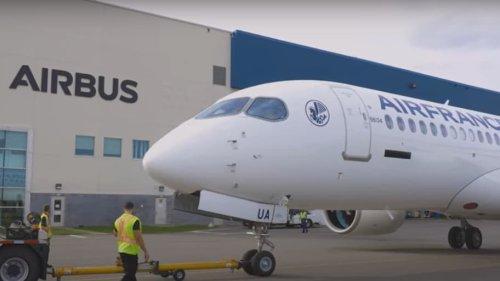Air France dévoile son premier A220-300