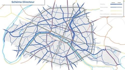 Nouveau plan vélo à Paris: la carte des aménagements cyclables d'ici 2026