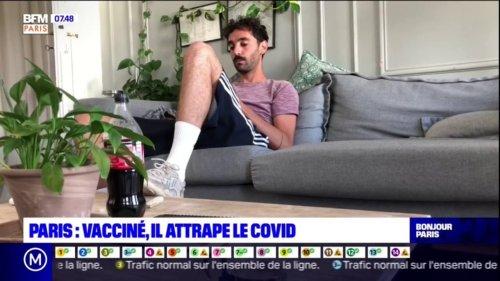 Covid-19: complètement vacciné, ce Parisien témoigne après avoir été contaminé