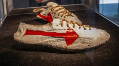 """Baskets de Michael Jordan, prototype Nike: résultats décevants à la vente """"olympique"""" chez Sotheby's"""