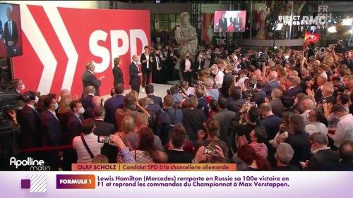 En Allemagne, le SPD en tête des élections législatives, une longue période de tractation à venir