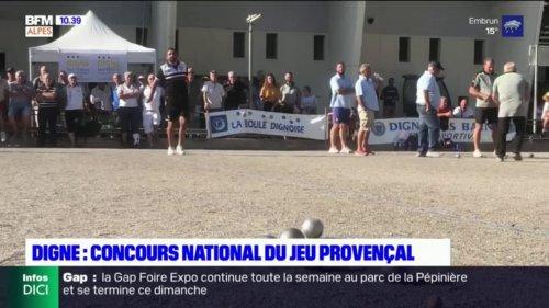 Digne-les-Bains: 400 boulistes au Concours national du jeu provençal
