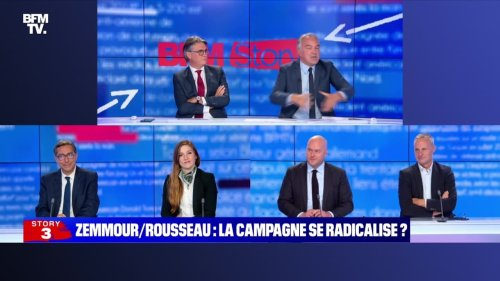 Story 6 : Zemmour/Rousseau, la prime à la radicalité - 20/09