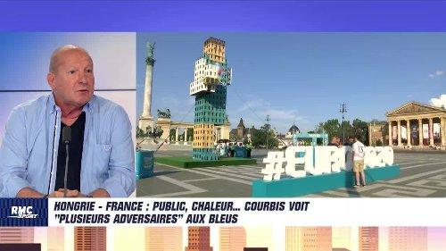 """Hongrie - France : Public, chaleur... Courbis voit """"plusieurs adversaires"""" aux Bleus"""