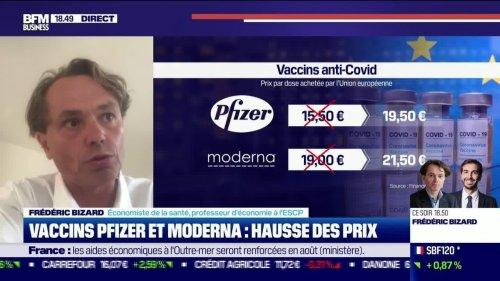 Frédéric Bizard (ESCP) : Hausse des prix des vaccins Pfizer et Moderna - 02/08
