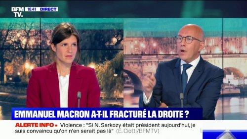 """Éric Ciotti sur les régionales dans les Hauts-de-France: """"Ce que veut faire Monsieur Macron, c'est tenter de faire battre Xavier Bertrand, mais il n'y arrivera pas"""""""