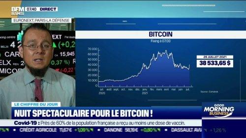 Nuit spectaculaire pour le bitcoin !
