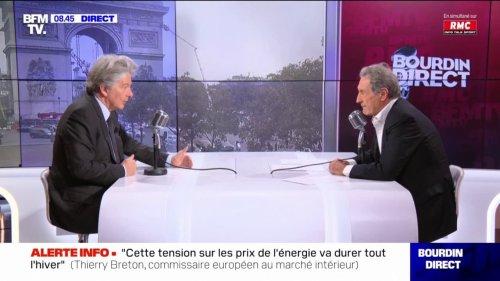 """Thierry Breton sur le Brexit: """"C'est une catastrophe économique"""" pout les Britanniques"""