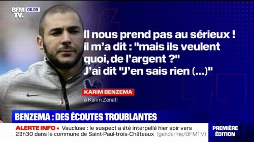 Procès de la sextape: une conversation entre Karim Benzema et Karim Zenati, maitre-chanteur présumé de Mathieu Valbuena, diffusée à l'audience