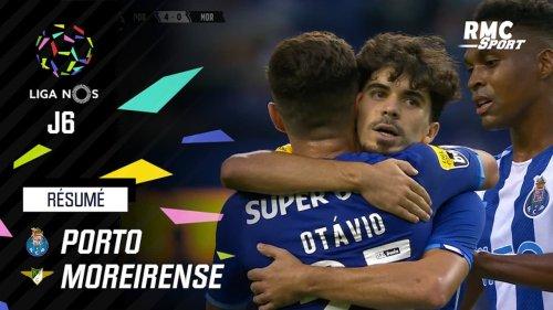 Liga Portugaise : Porto écrase Moreirense (5-0) lors de la 6e journée