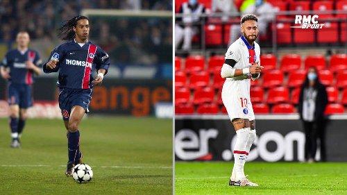 """PSG : """"Ronaldinho avait un Neymar dans chaque jambe"""" dézingue Di Meco"""