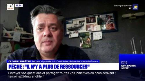 """""""Il n'y a plus de ressources"""": le coup de gueule d'un pêcheur de Boulogne-sur-Mer"""